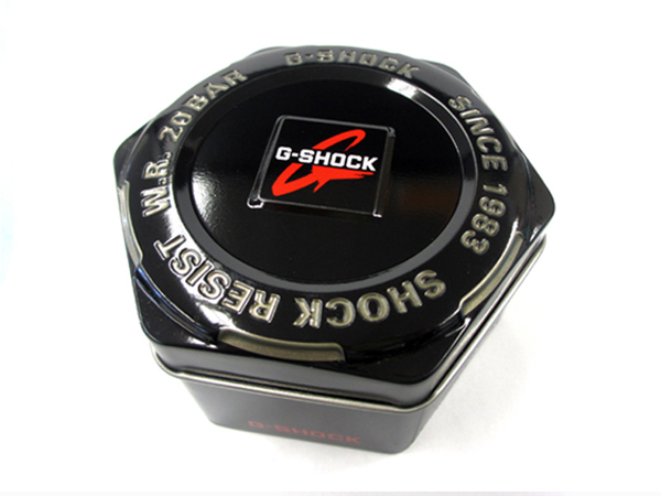 ※箱 【G-SHOCK メタルケース】 ブラック 1個 非売品(缶・BOX)CASIO カシオ 腕時計 黒色 watch _画像1