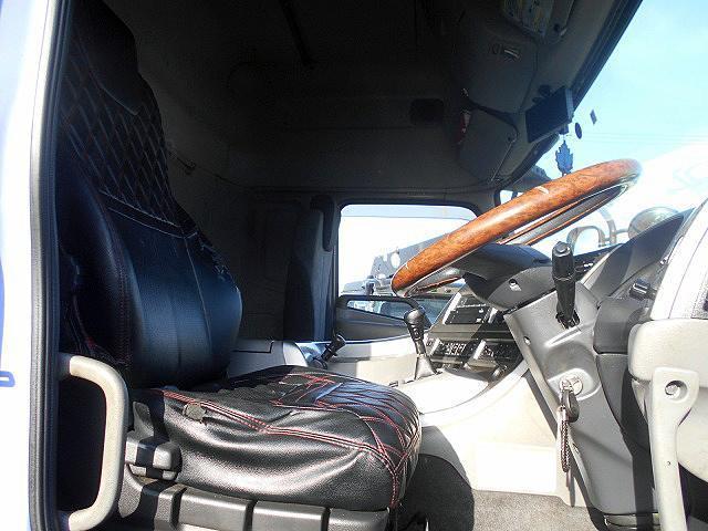 H26 UDトラックス クオン 日本トレクス製アルミウイング ハイルーフ 4軸低床 ラッシング2段 ターボ車 #K8028_画像9
