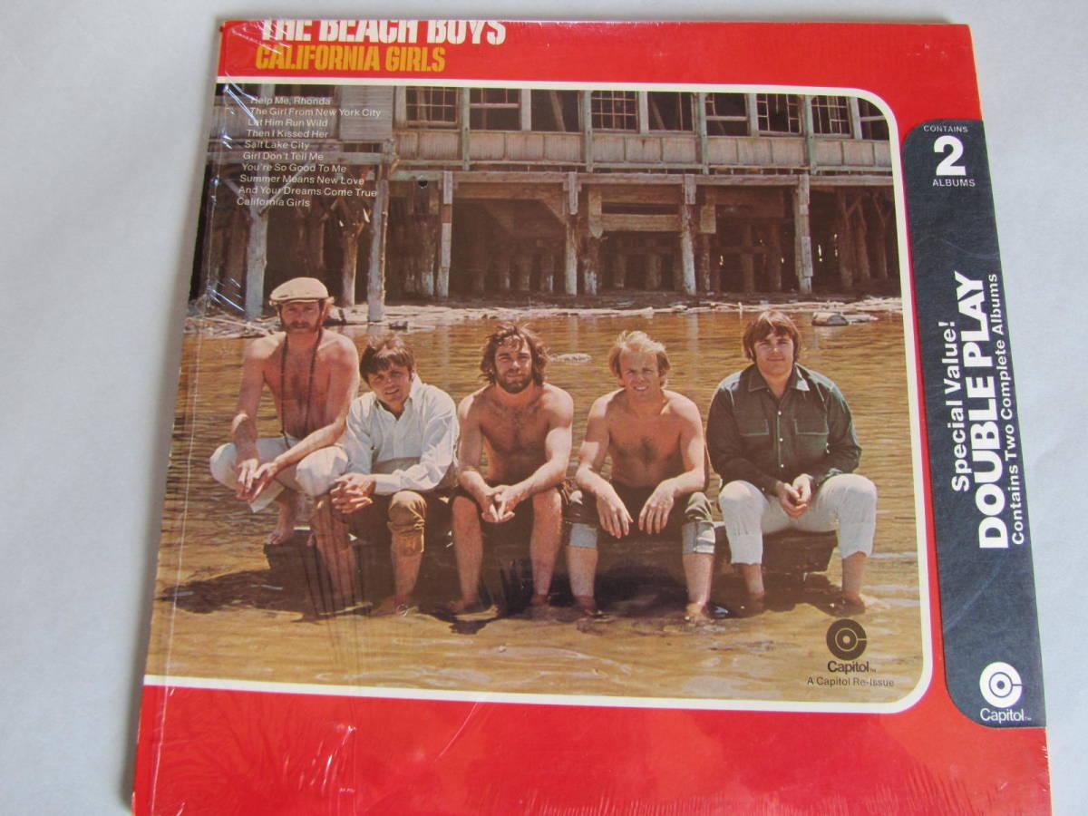中古LPレコード盤 カリフォルニアサウンズ The BEACH BOYS カップリングアルバム 2枚組