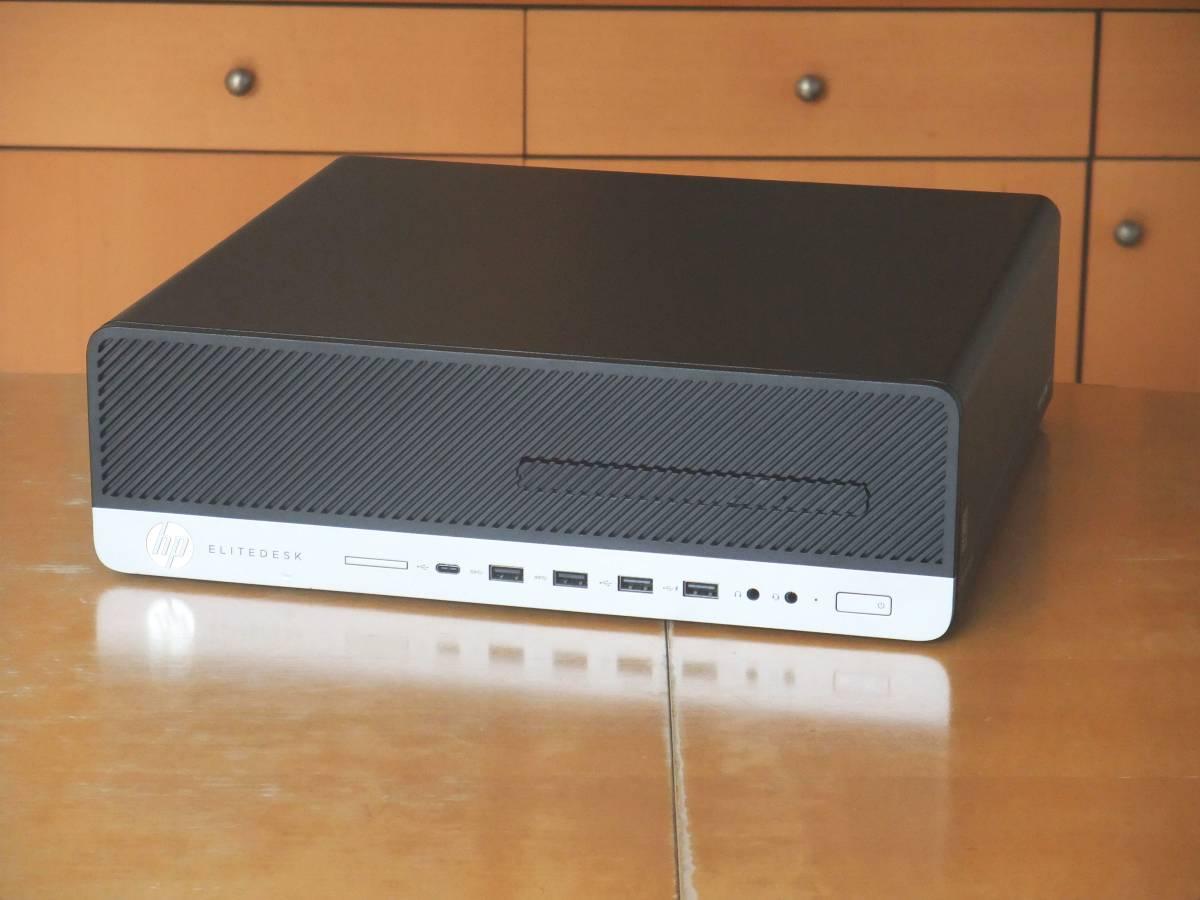 ☆第7世代i7-7700 4.2Gx8/大容量32Gメモリ(DDR4)/新品SSD1000G/Office2019/Win10/USB3.0/領収証可/税不要/EliteDesk800G3_画像3