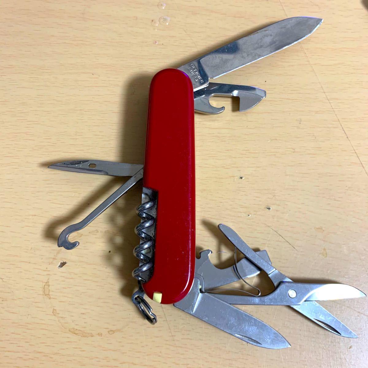 VICTORINOX定番の大型アーミーナイフです。