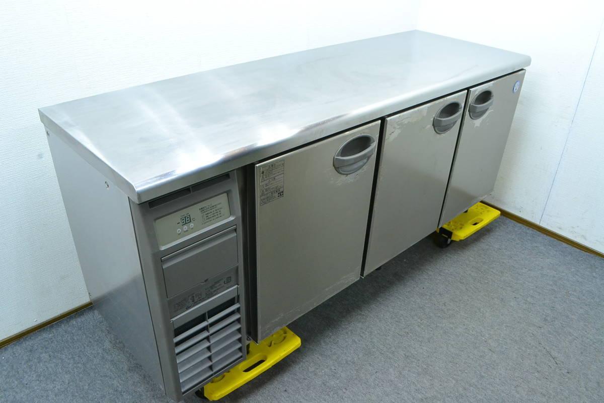 F115■フクシマ■業務用 台下冷蔵庫■YRC-180RE2■413L■100V 横型冷蔵庫 コールドテーブル_画像2