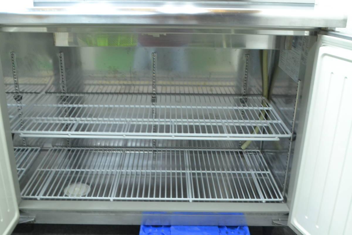 C68■Panasonic■台下冷蔵庫(サンプルディスプレーBOX付)■SUR-K1801SA■2015年製■コールドテーブル■100V_画像5