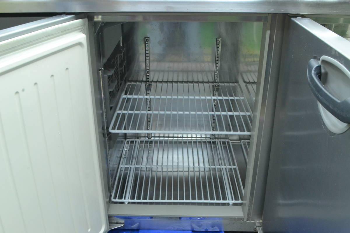 C68■Panasonic■台下冷蔵庫(サンプルディスプレーBOX付)■SUR-K1801SA■2015年製■コールドテーブル■100V_画像6