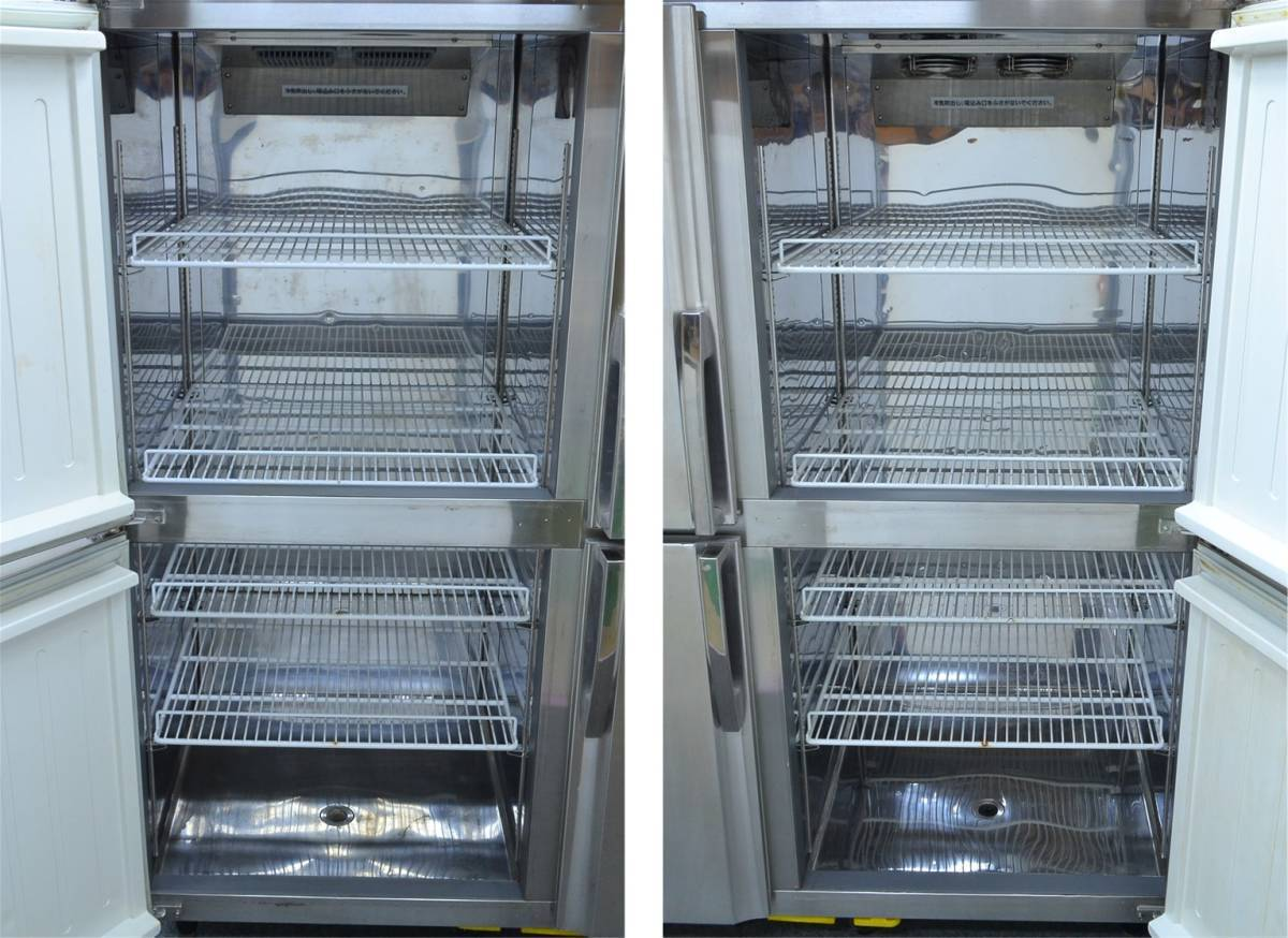 h184■フジマック■冷凍冷蔵庫 2014年製■4枚扉 冷凍 634L/冷蔵 634L■FR1580F2J_画像5