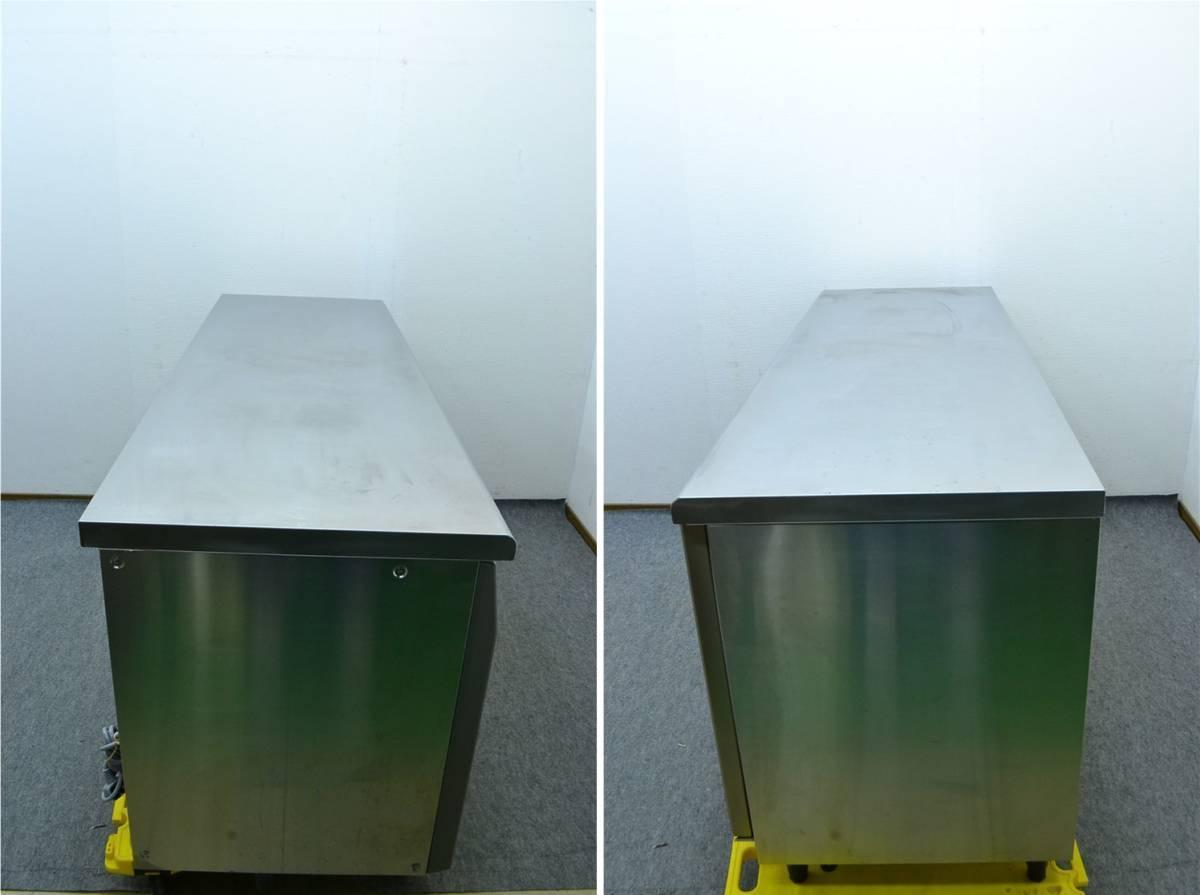 F115■フクシマ■業務用 台下冷蔵庫■YRC-180RE2■413L■100V 横型冷蔵庫 コールドテーブル_画像3