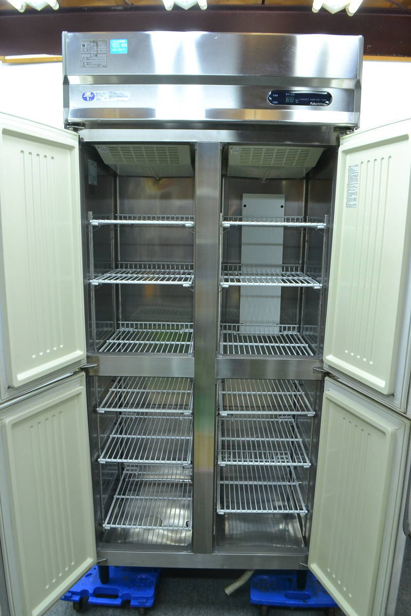 F29■フクシマ■4ドア冷凍冷蔵庫■URN-32PM1■冷凍 274L 冷蔵 274L■業務用 4枚扉_画像6