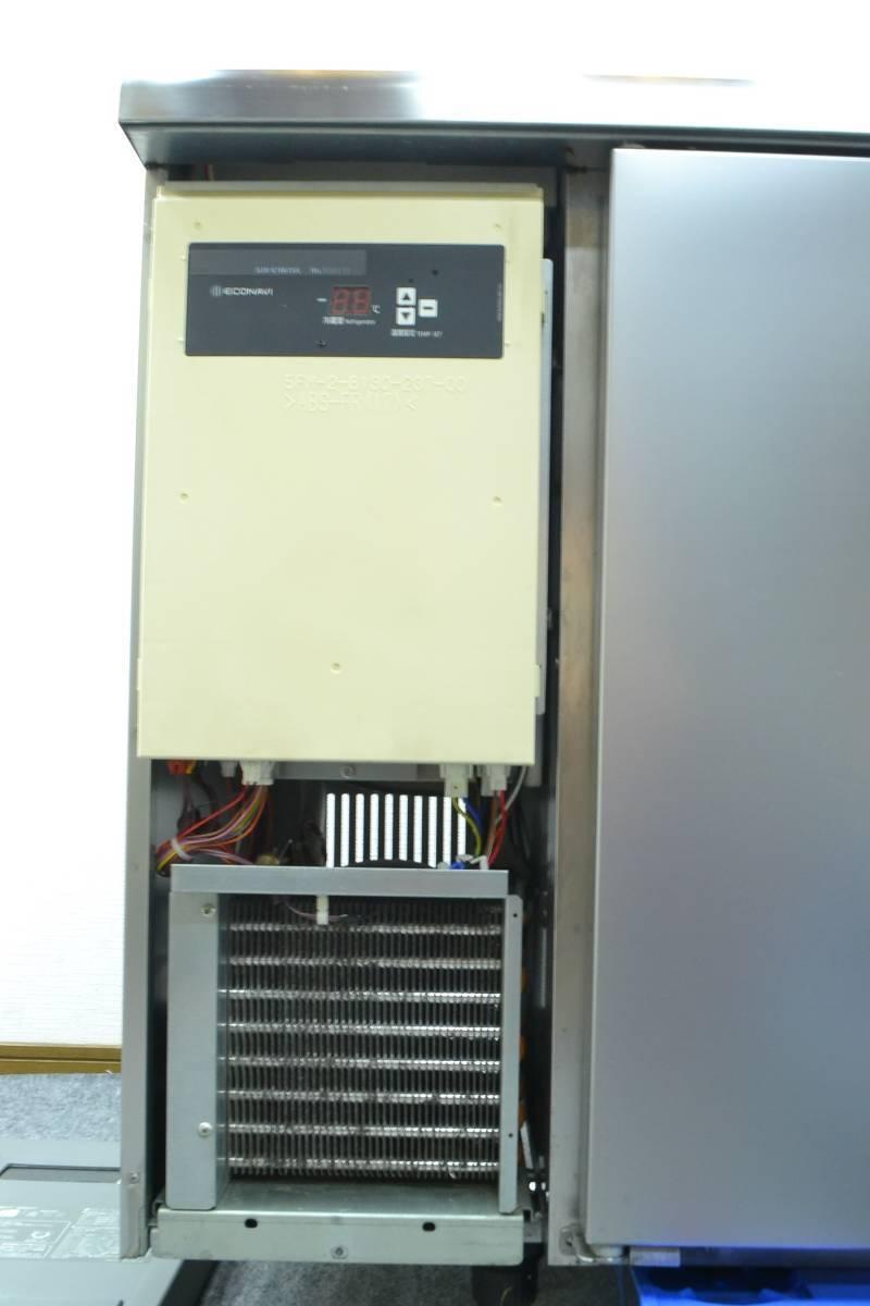 C68■Panasonic■台下冷蔵庫(サンプルディスプレーBOX付)■SUR-K1801SA■2015年製■コールドテーブル■100V_画像8