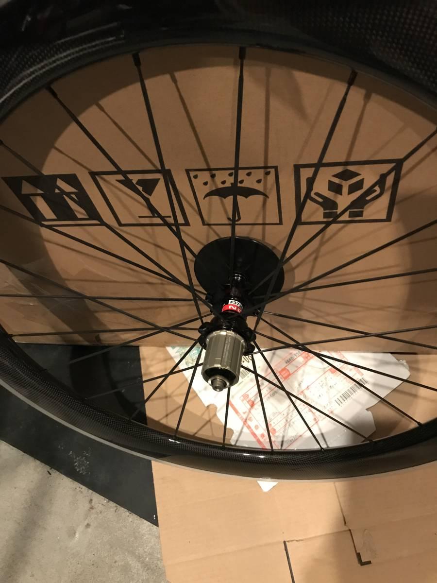 アルミブレーキ カーボンホイールセット 700C リム高60mm ロード/ピスト用 前後セット クリンチャー 自転車ホイール_画像5
