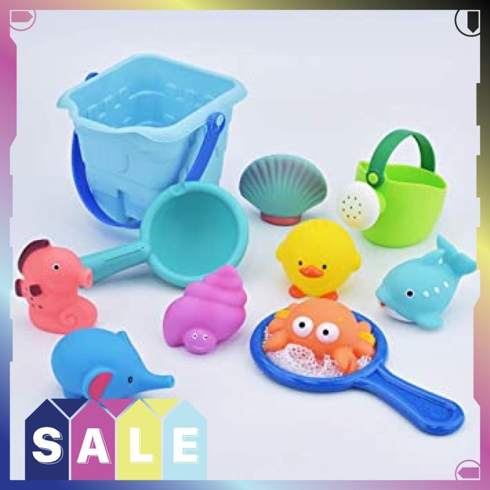 ★即決★残り僅か★お風呂 おもちゃ Bacolos おふろ 水遊びおもちゃ シャワー プール おもちゃ 11点セット 噴水 音出_画像5