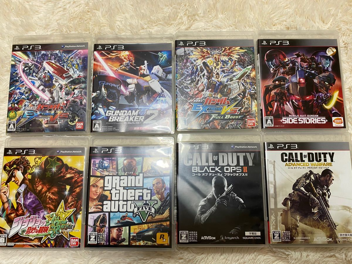 PS3 PS3ソフト 8本セット