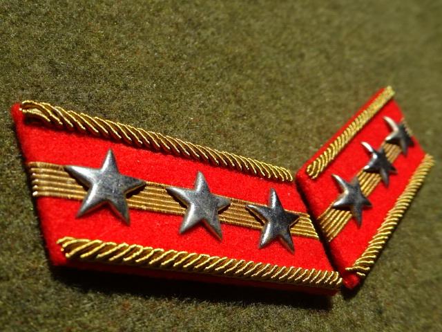 [実物級]大日本帝国陸軍三式大尉襟章(森商会精密複製)_画像2