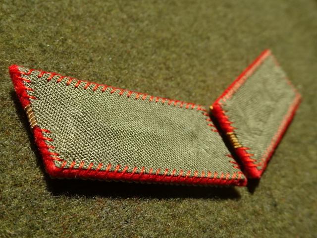 [実物級]大日本帝国陸軍三式大尉襟章(森商会精密複製)_画像5