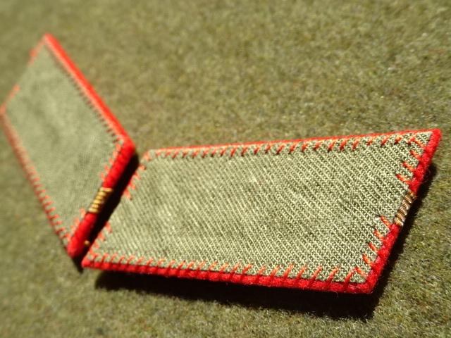 [実物級]大日本帝国陸軍三式大尉襟章(森商会精密複製)_画像6