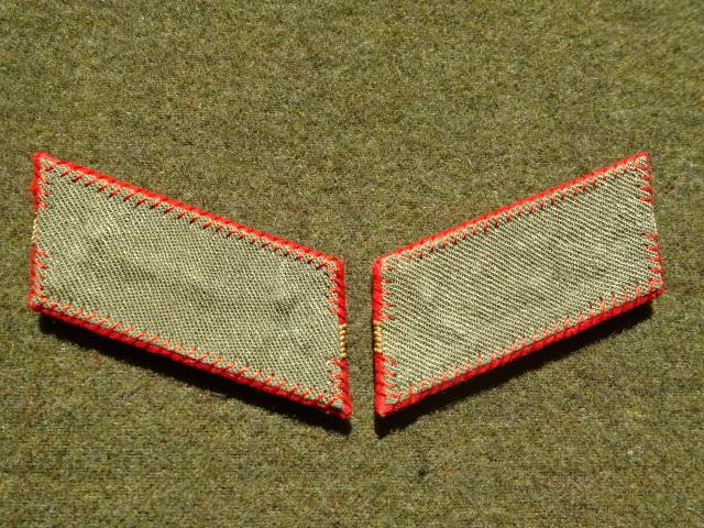 [実物級]大日本帝国陸軍三式大尉襟章(森商会精密複製)_画像4