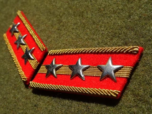 [実物級]大日本帝国陸軍三式大尉襟章(森商会精密複製)_画像3