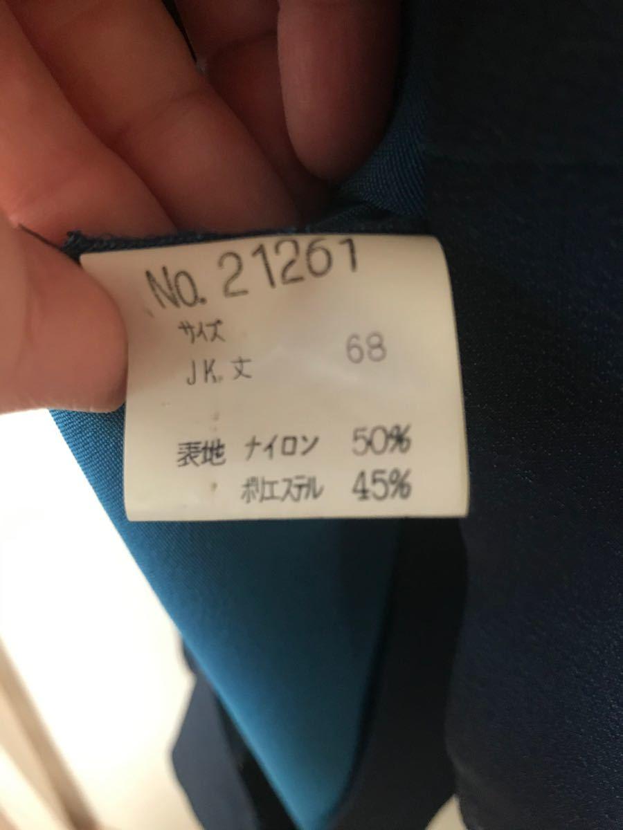 テーラードジャケット パンツスーツ 青