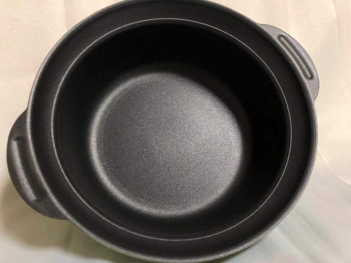 IH &ガスコンロ対応 卓上鍋24cm ガラス蓋付き