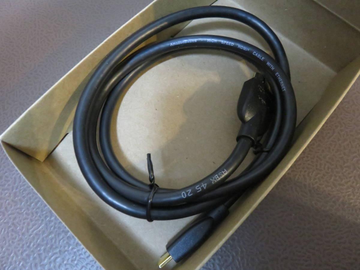 【複数出品】amazonbasics ハイスピードミニ HDMI ケーブル 0.9m B014I8UAPE 未使用品_画像3