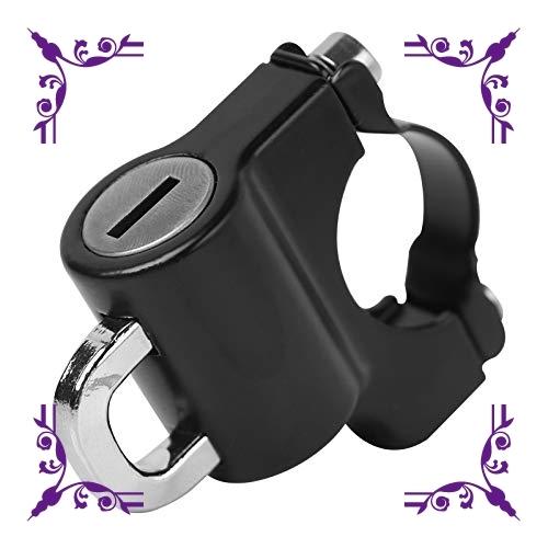 【送料無料】汎用 ヘルメットロック ヘルメットホルダー バイク ハンドル スクーター パイプ 防犯 鍵 キー 盗難防止 直径 22_画像2