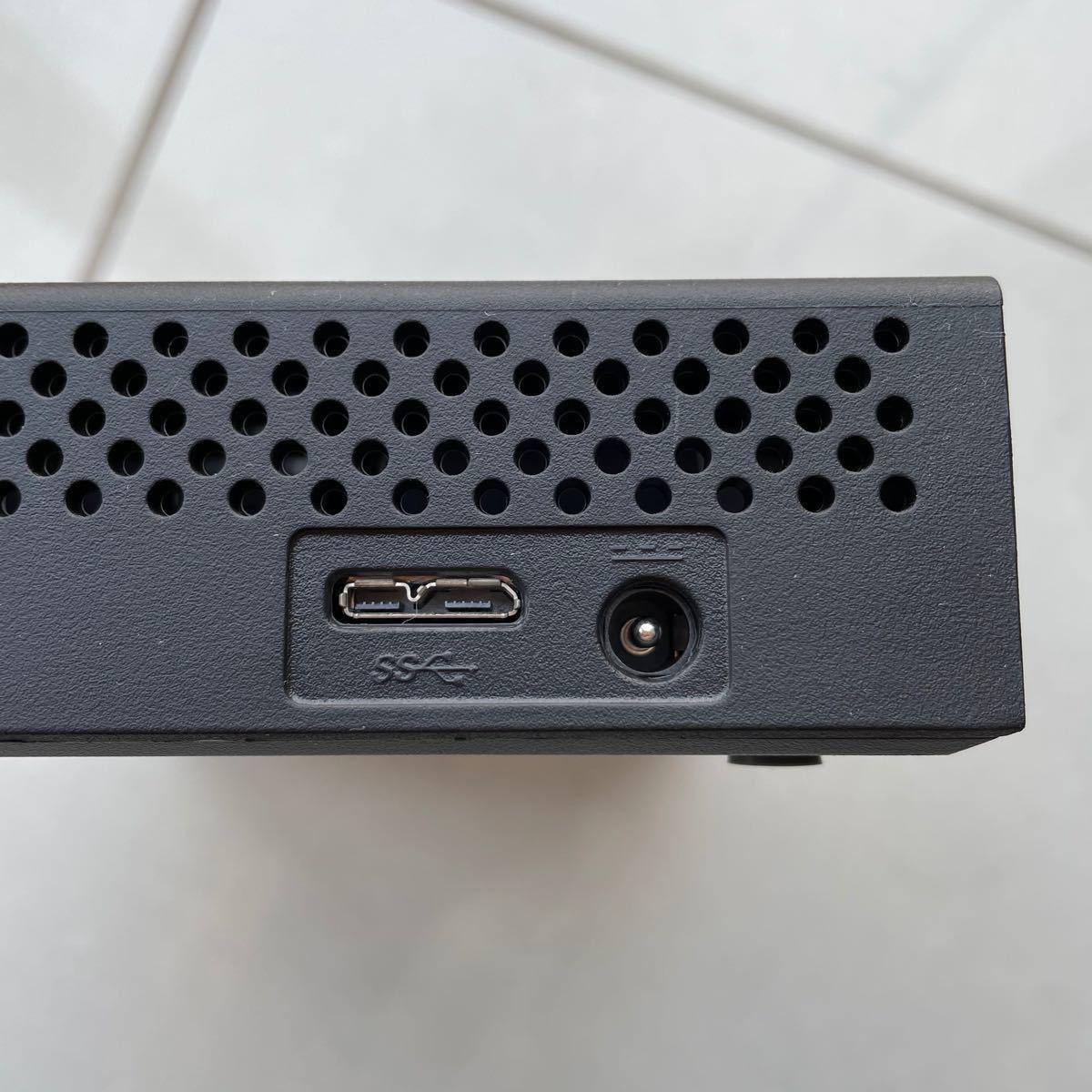 3TB外付けハードディスクドライブ エレコム SGD-EX030UBK(ST3000DM003)#3