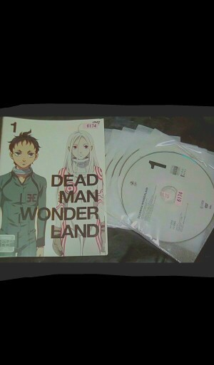 DVD レンタル落ち ケースなし デッドマン・ワンダーランド 全話 ディスク6枚