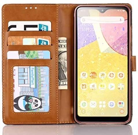 Samsung Galaxy A21 デニム 手帳型ケース DINGXIN 日本版 docomo SC-42A 耐衝撃_画像2