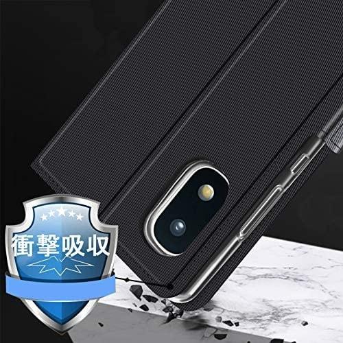 【液晶ガラスフィルムとストラップ付き】Mutucu 2020年発売 docomo Galaxy A21 SC-42A手帳型 ケース_画像5