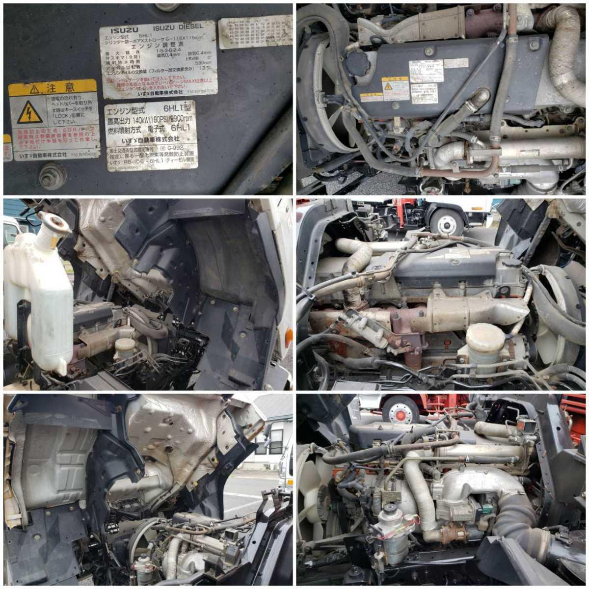 【1円スタート】車検4年4月まで 角足アウトリガー 16年式いすゞ フォード クレーン付きセーフティローダー ALLラジコン仕様 実走行117200km_画像10