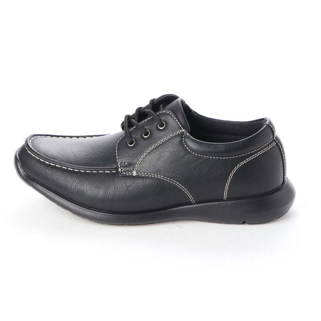 【安い】【超軽量】【防水】【幅広】GRAVITY FREE メンズ ウォーキング ビジネスシューズ 紳士靴 革靴 601 Uチップ ブラック 黒 24.5cm