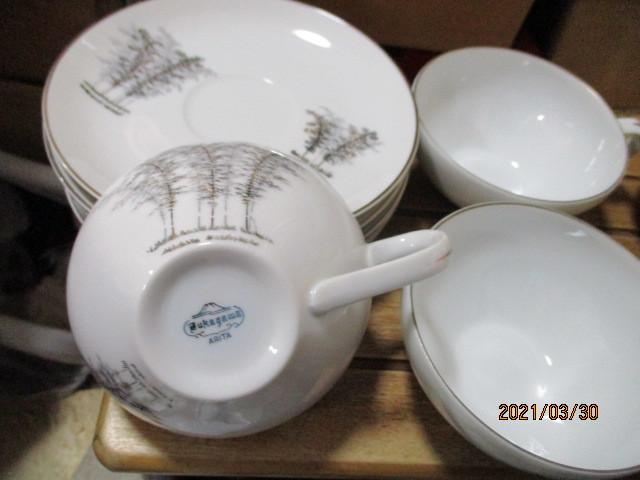 深川製磁の5客碗皿_画像2