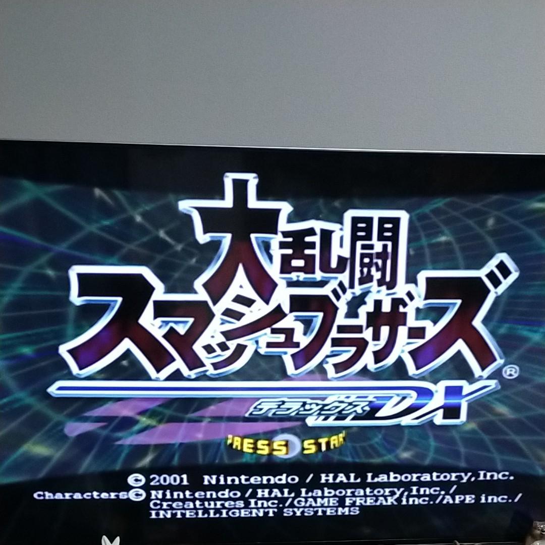 ゲームキューブ ソフトマリオカートダブルダッシュ大乱闘スマッシュブラザーズDX