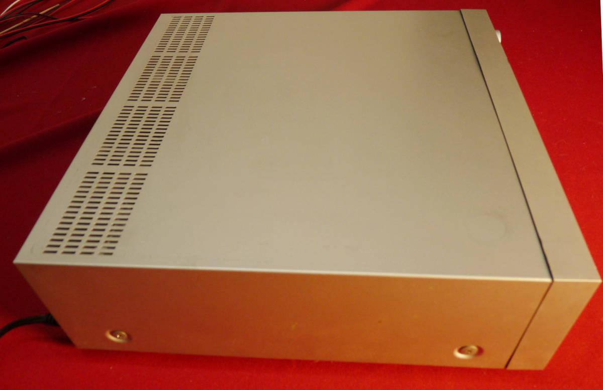 テクニクスカセットレシーバーSA-K6通電確認のみジャンク扱い_画像5