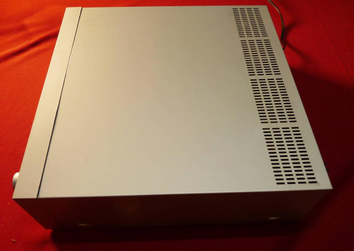 テクニクスカセットレシーバーSA-K6通電確認のみジャンク扱い_画像4