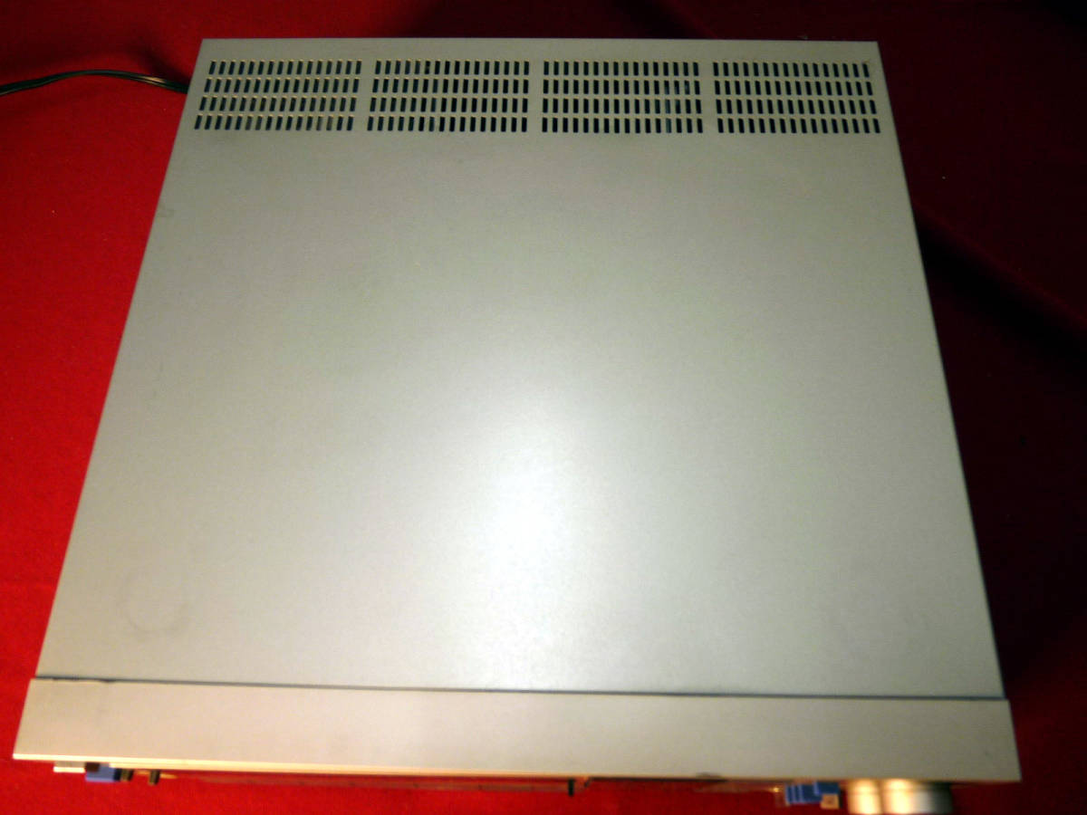 テクニクスカセットレシーバーSA-K6通電確認のみジャンク扱い_画像3