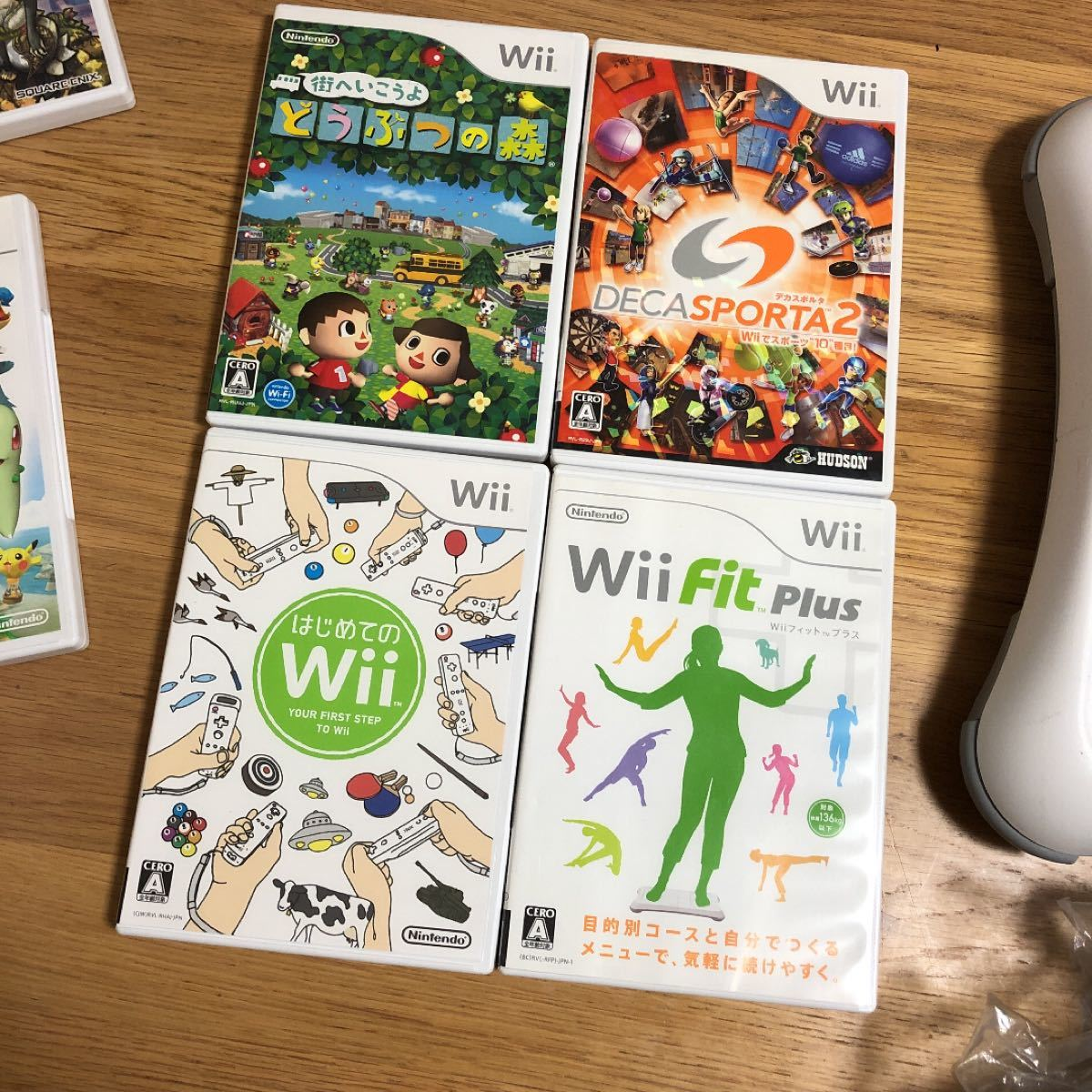 wii  本体 ソフトセット