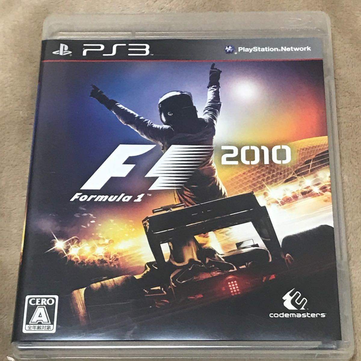 PS3ソフト F1 2010