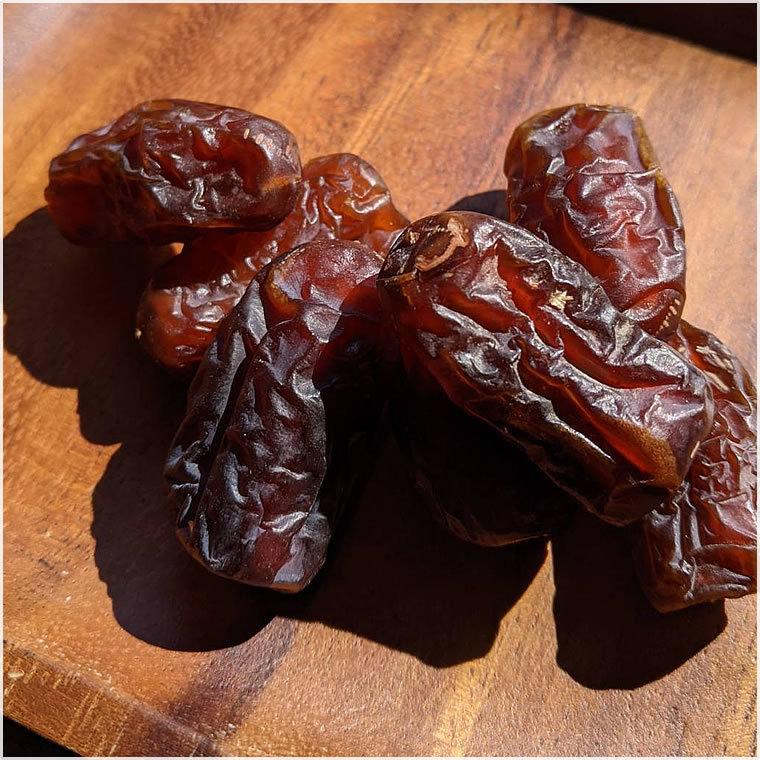 【BI】 ドライフルーツ デーツ ピアロム種 種あり 110g なつめやし 無添加 砂糖不使用 ノンシュガーナツメヤシ ピヤロム_画像3