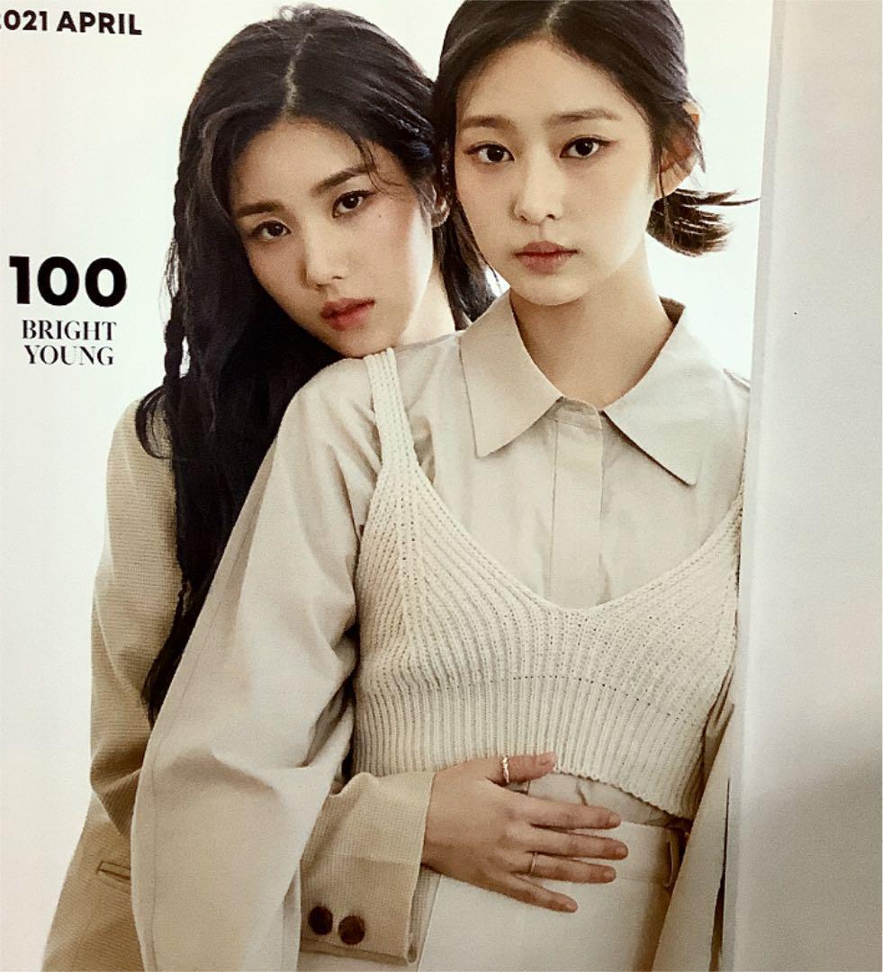 SUPER JUNIOR/IZ*ONE 雑誌Singles 2021 April_画像3