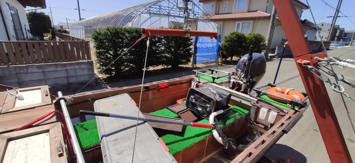 ボート吊り上げ用 ヒッチクレーン 一式 (ウィンチ無し)_画像9