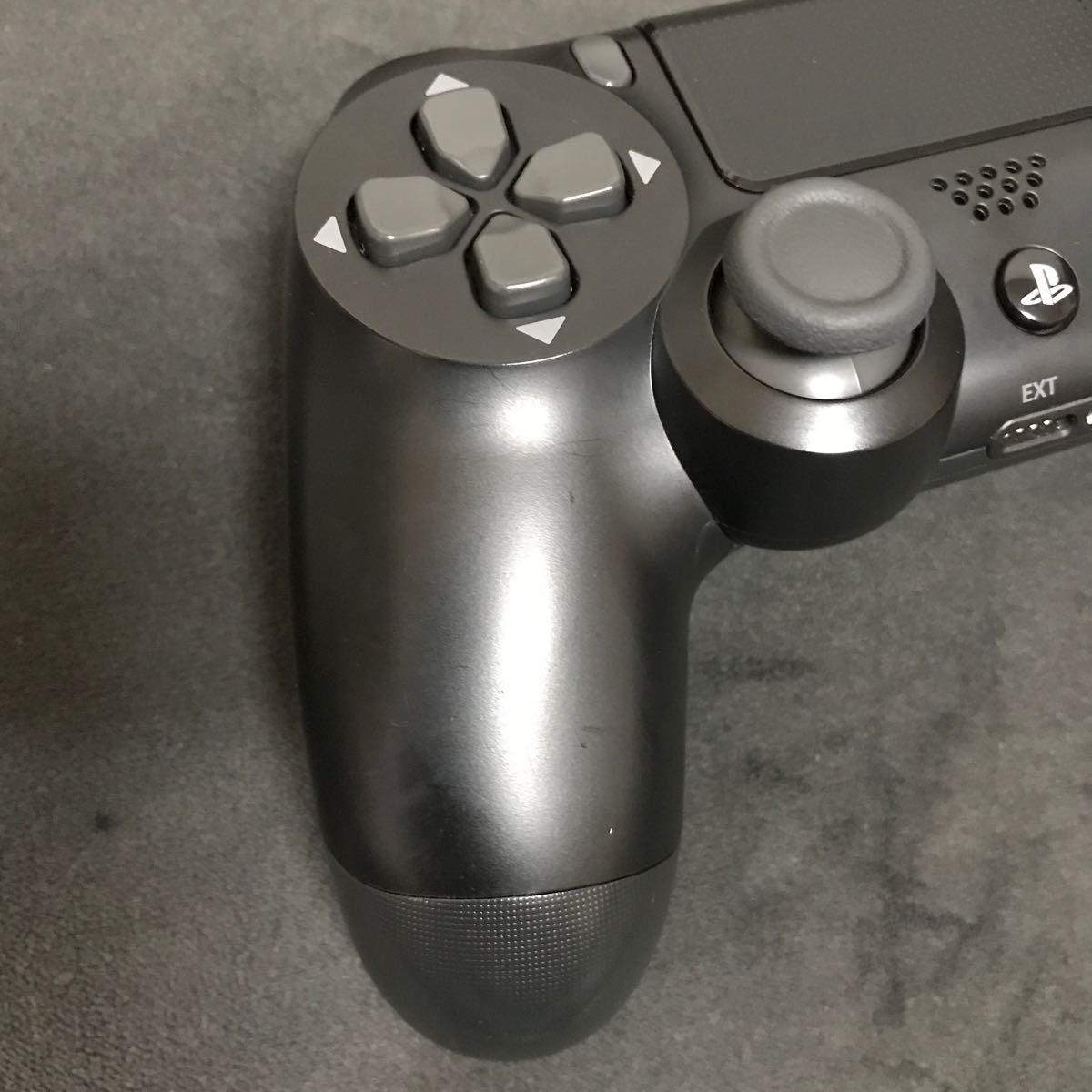 PS4 純正コントローラー ジェットブラック