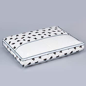 くまモン柄 アストロ くまモン 羽毛布団 収納袋 シングル用 不織布 コンパクト 優しく圧縮 900-05_画像7