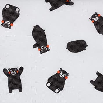 くまモン柄 アストロ くまモン 羽毛布団 収納袋 シングル用 不織布 コンパクト 優しく圧縮 900-05_画像6