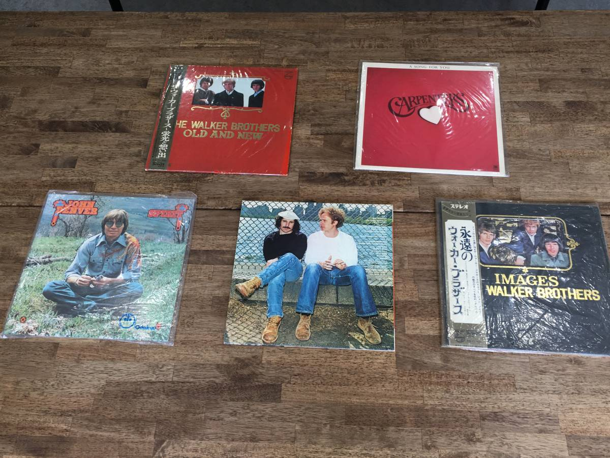 洋楽系 LP レコード 20枚セット ディープパープル・リボルバー・カーペンターズ・ウォーカーブラザーズ2104176_画像7