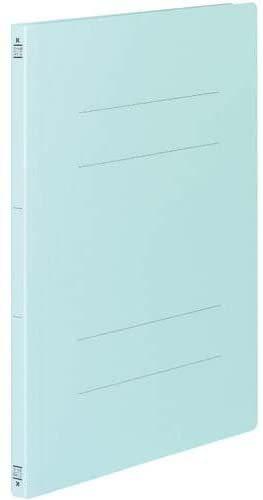 【未使用品】コクヨ フ-V43B フラット328129011V樹脂製とじ具A3縦 15mmとじ 青 10セット_画像1