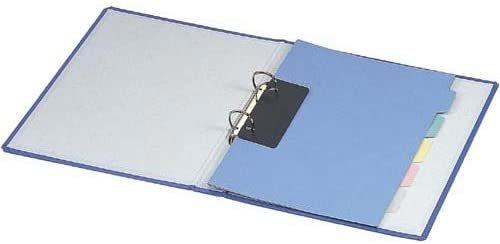 【未使用品】コクヨ リングファイル貼り表紙銀A4縦背幅56mm×4冊セット_画像2