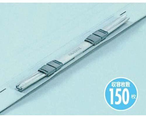 【未使用品】コクヨ フ-V43B フラット328129011V樹脂製とじ具A3縦 15mmとじ 青 10セット_画像2
