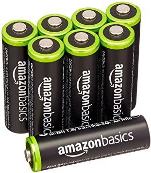 ベーシック 充電池 充電式ニッケル水素電池 単3形8個セット (最小容量1900mAh、約1000回使用可能) &a_画像2