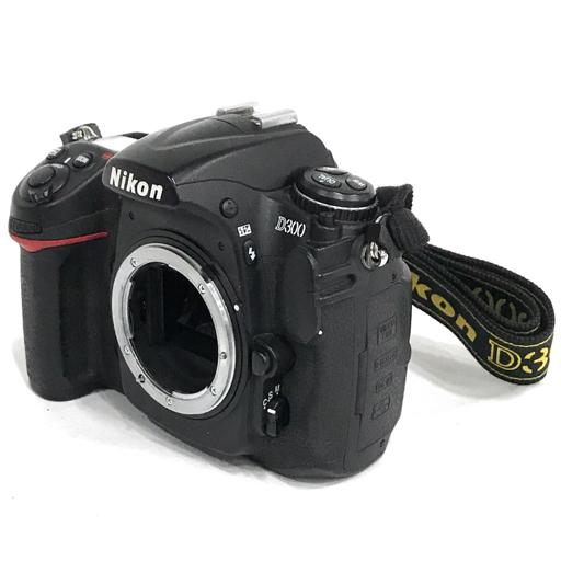 1円 Nikon D300 デジタル一眼レフカメラ ボディ DX AF-S NIKKOR 12-24mm F4G ED レンズ 動作品 付属品有り ニコン
