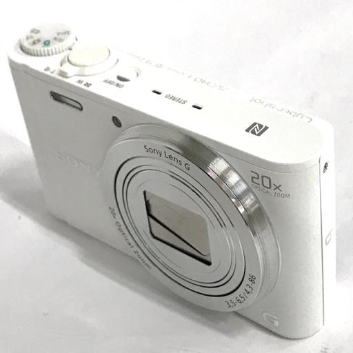 1円 SONY DSC-WX350 コンパクトデジタルカメラ ホワイト SONY LENS G F3.5-6.5/4.3-86mm 動作品 付属品有り ソニー